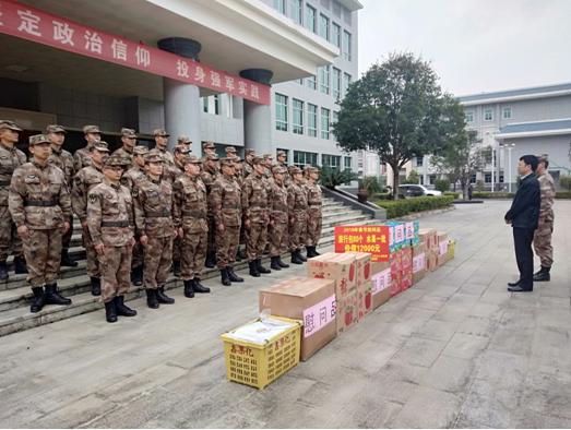 我局开展2019年春节慰问驻军部队活动