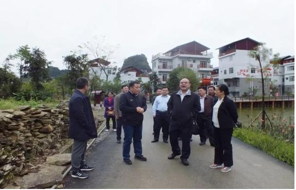 曹坤华到百色市调研科技助力扶贫攻坚和科技创新驱动乡村振兴发展工作