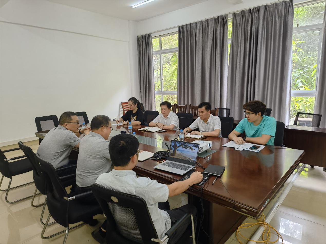 罗碧峰同志到吉利百矿有限公司调研科技创新工作